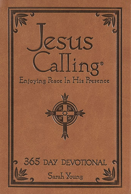 Jesus Calling – Deluxe Edition Brown Cover