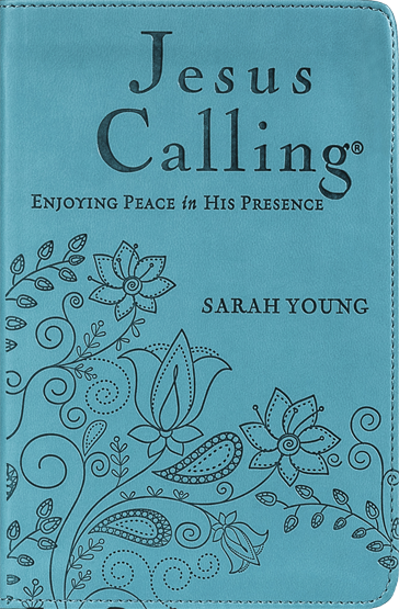 Jesus Calling – Deluxe Edition Teal Cover