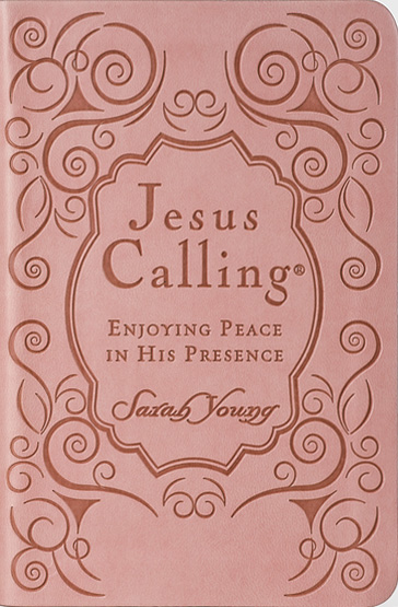 Jesus Calling – Deluxe Edition Pink Cover