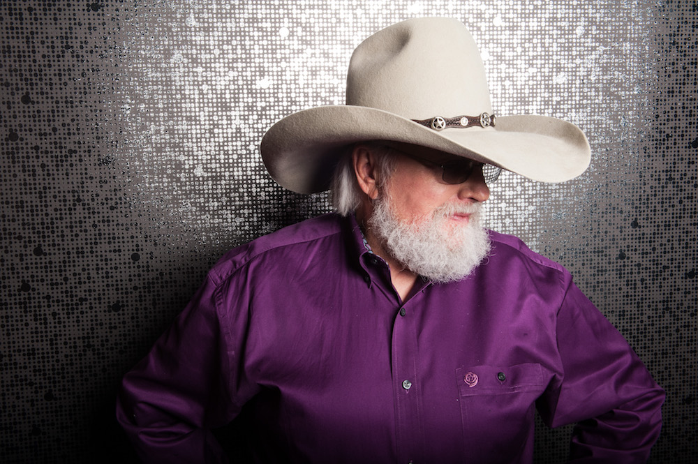 Country music star Charlie Daniels.