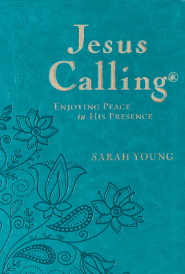 Jesus Calling Large Print Deluxe Teal Edition