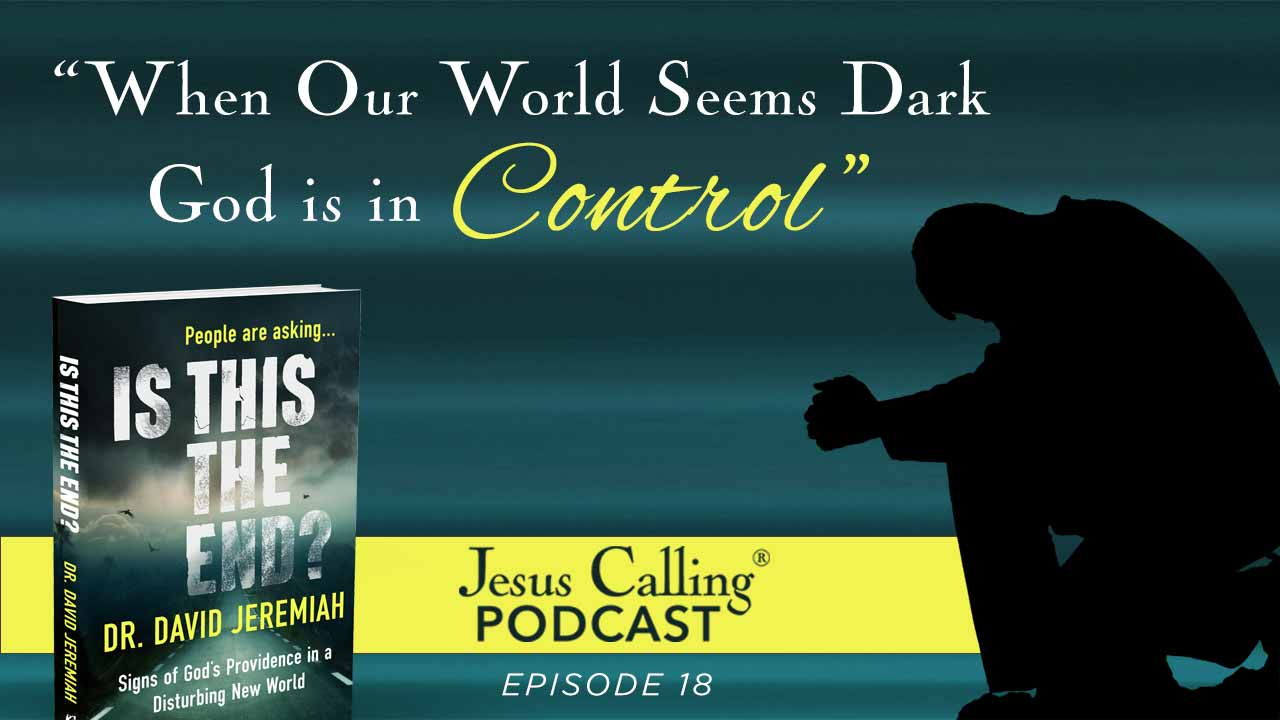 Podcast cover image for episode 18 with David Jeremiah.