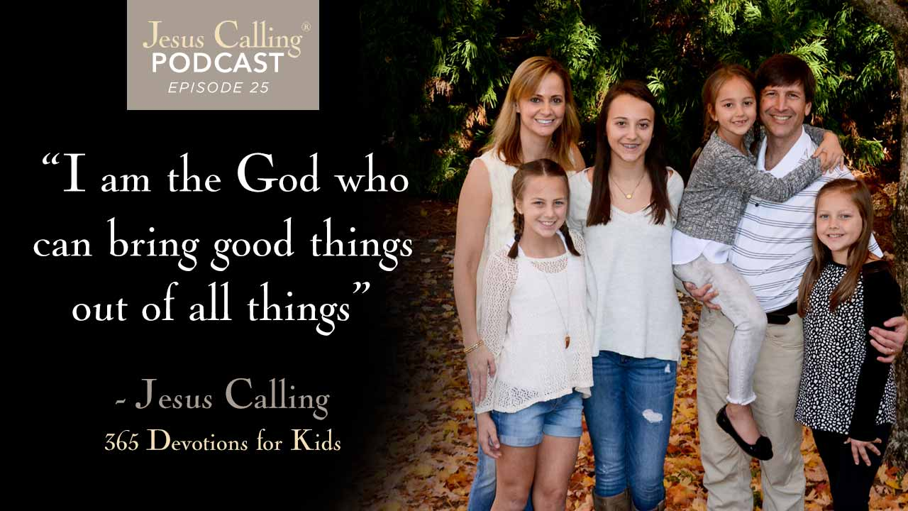 Cover image for Jesus Calling's podcast #25