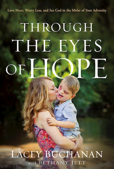 Lacey Buchanan's book, Through the Eyes of Hope.