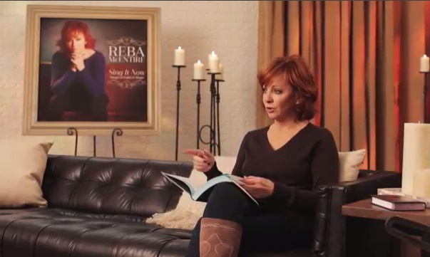 "Reba McEntire discusses her recent Gospel double CD project entitled ""Sing It Now; Songs of Faith and Hope."""