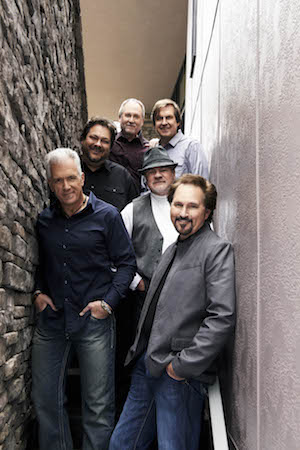 The band members of Diamond Rio pose for a group photo.