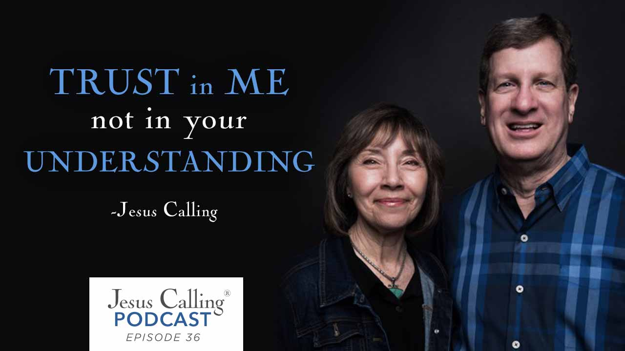 Lee and Leslie Strobel discuss their faith and marriage in today's Jesus  Calling Podcast.