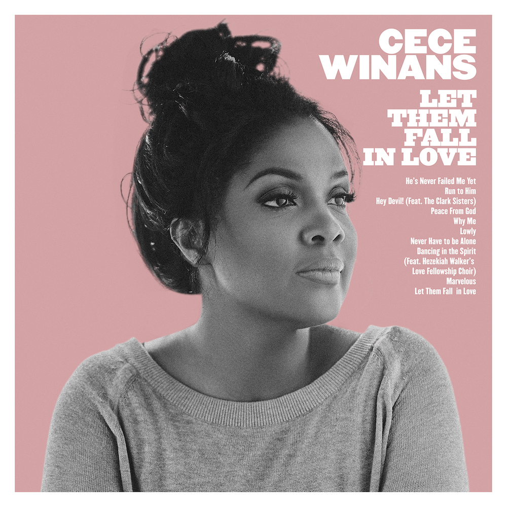 CeCe Winans' latest album, Let Them Fall In Love.