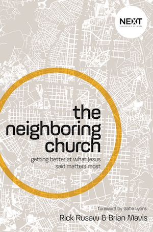 The Neighboring Church book cover.