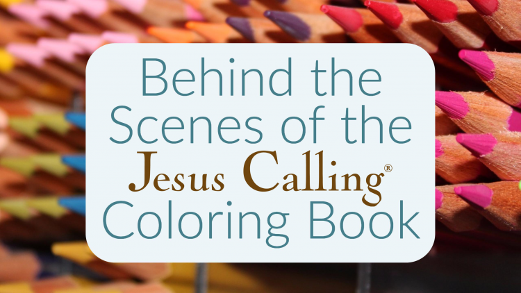 Meet the artist behind the intricate designs, Pimlada Phuapradit, who has worked to bring the inspiration of Jesus Calling to a whole new audience.
