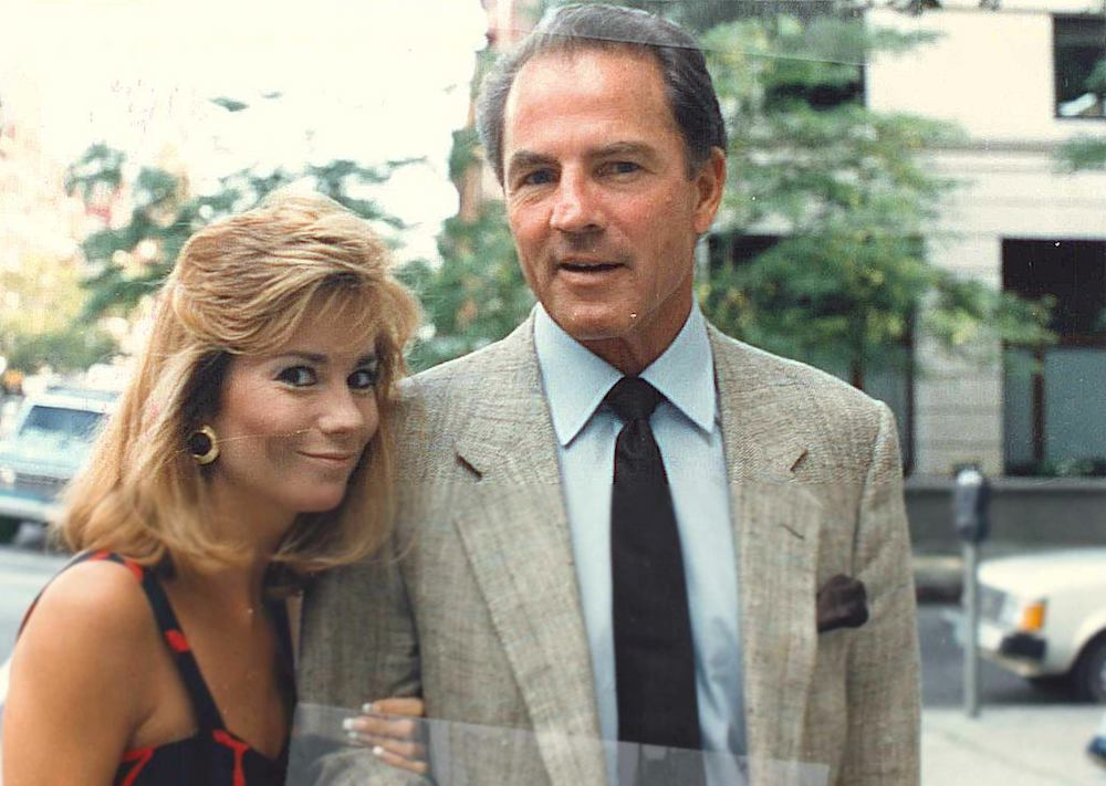 Kathy Lee Gifford with her husband, Frank Gifford.