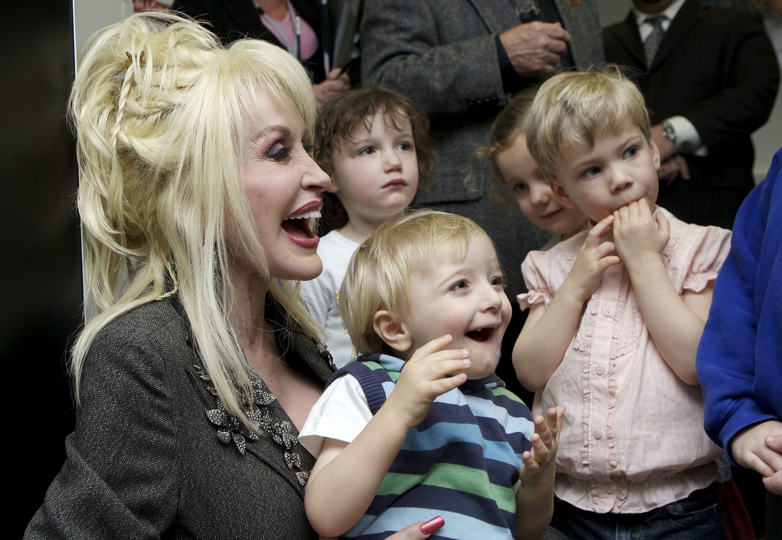 UK LAUNCH OF IMAGINATION LIBRARY WITH DOLLY PARTON