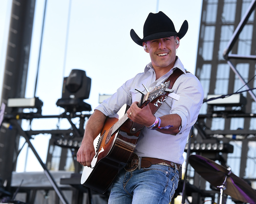 Musician Aaron Watson performs onstage during 2016 Stagecoach California's Country Music Festival at Empire Polo Club on April 30, 2016 in Indio, California.