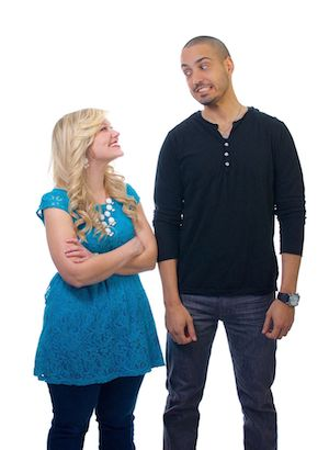 WAY-FM's radio hosts Carlos & Joy.