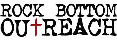 The Rock Bottom Outreach logo.