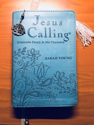 Shannon Rozenburg's copy of Jesus Calling.