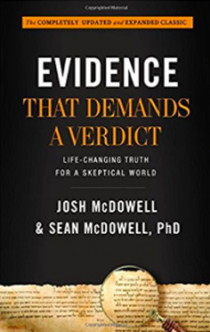 Evidence That Demands a Verdict book by Josh McDowell & Sean McDowell cover