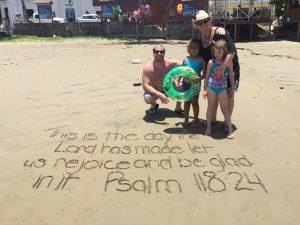 Psalm 118:24; Donna Barrett Nicaragua mission trip