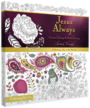 Jesus Always Creative Coloring and Hand Lettering | Jesus Calling