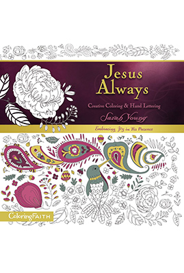 Jesus Always Creative Coloring and Hand Lettering