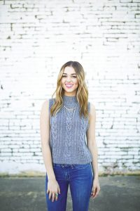 Sadie Robertson image for Jesus Calling podcast