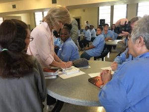 First Lady Donna Edwards at that Louisiana Correctional Institute for Women