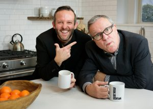 Mark Lowry and Andrew Greer in the Kitchen