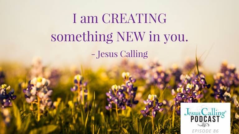 Ann Voscamp on Jesus Calling Podcast