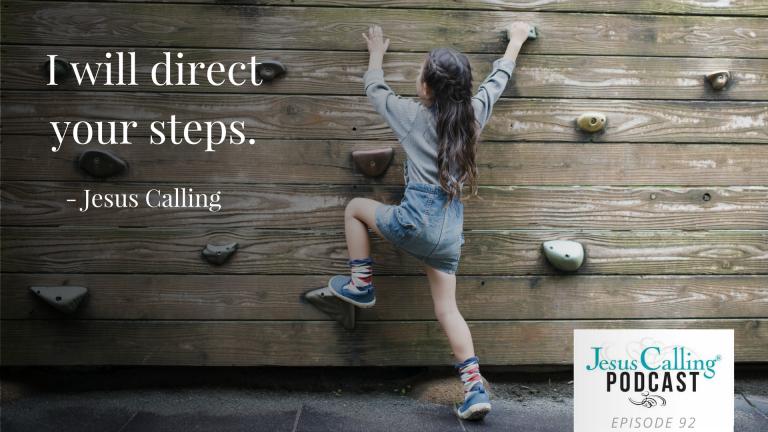 Jesus Calling Podcast ~ Melanie Shankle & Marshawn Evans Daniels Let God Direct Their Steps