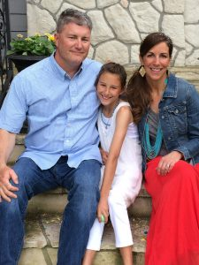 Melanie Shankle and her family _Jesus Calling podcast interview