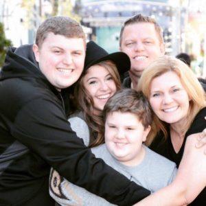 Craig Johnson, Lakewood Church and his family