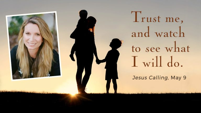 Cover image for Jesus Calling blog by Becca Stevens