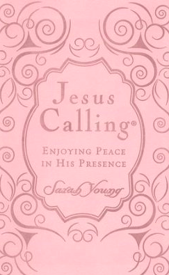 Jesus Calling Pink Leather Women's Devotional