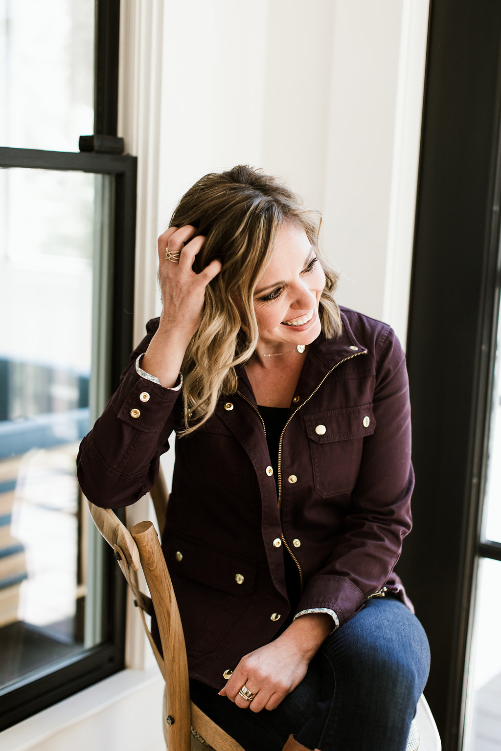 Kristin Fry, author of her book, Beyond the Swipe