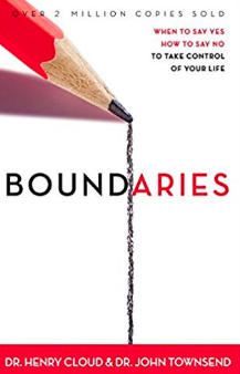 Boundaries book by Dr. Henry Cloud & John Townsend