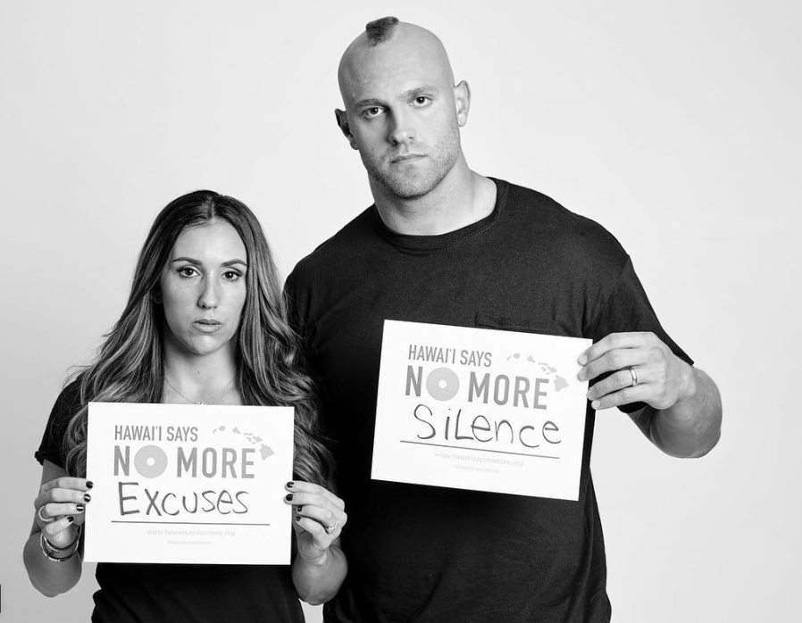 Mark & Danielle Herzlich NO MORE EXCUSES against domestic violence