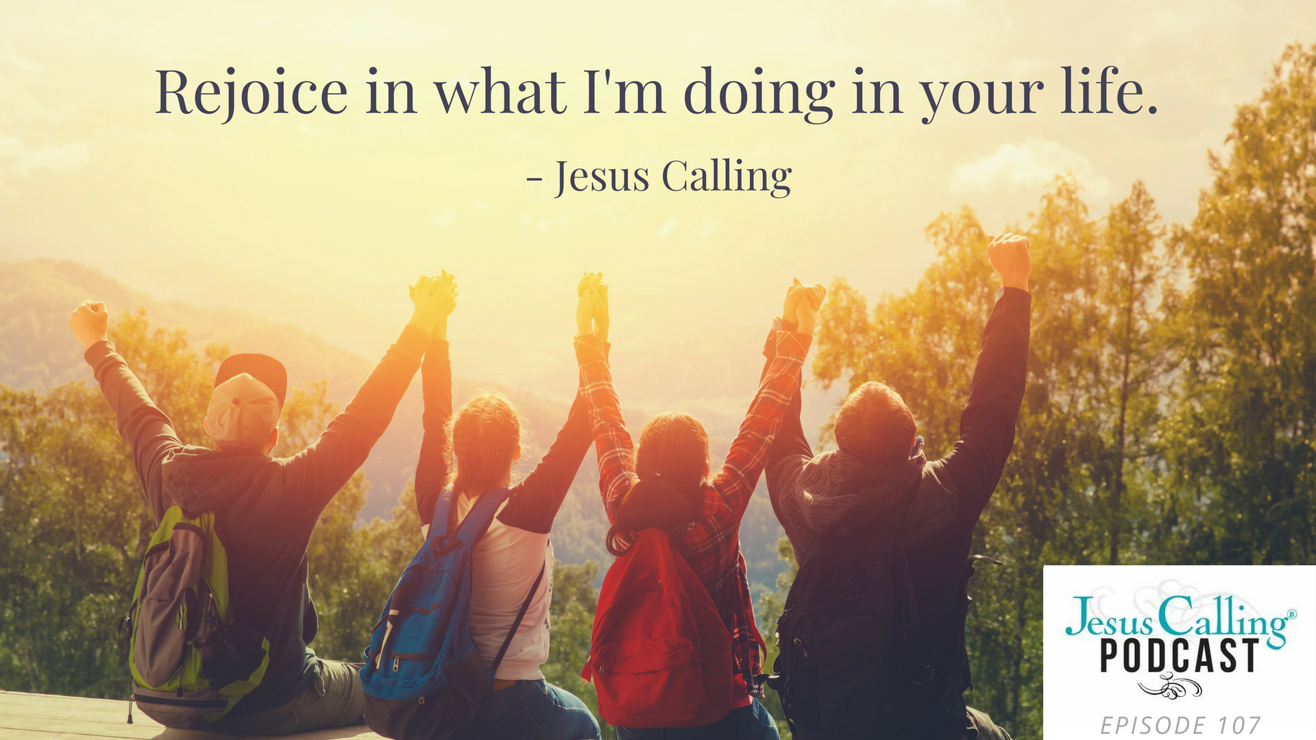 Jesus Calling episode #107 featuring Ainsley Earhardt & Andy Andrews
