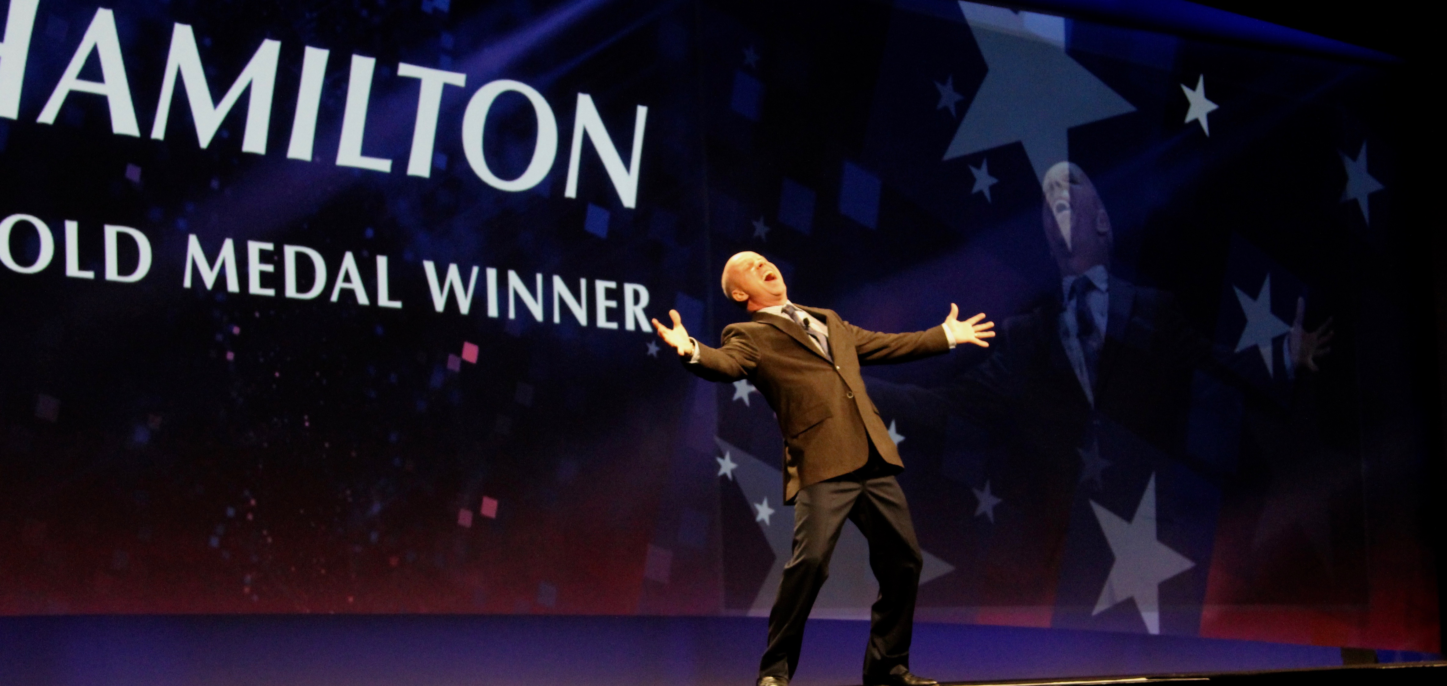 Scott Hamilton Olympic Gold Medal Winner