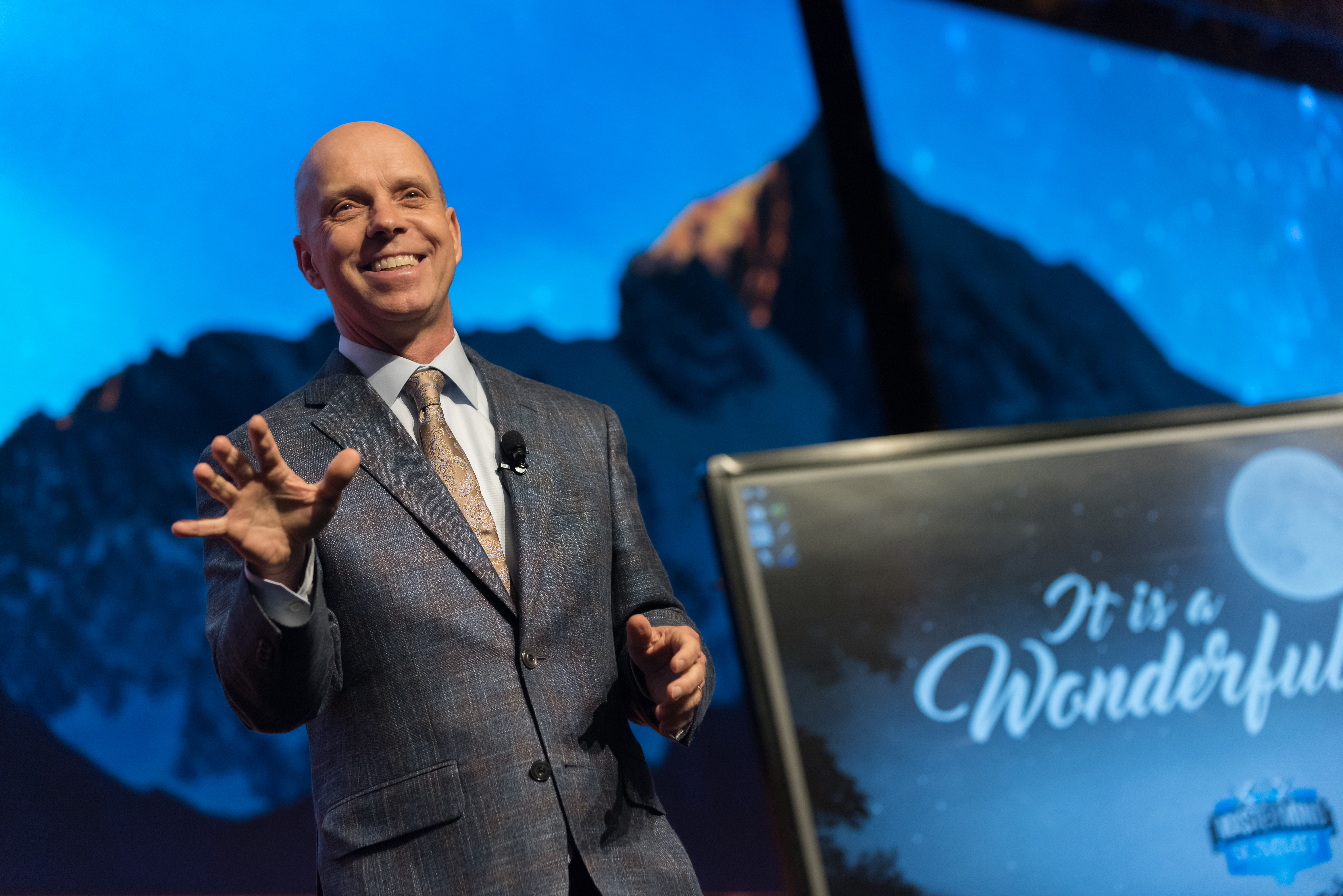 Olympic champion, Scott Hamilton as featured on Jesus Calling podcast