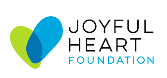 Joyful Heart Foundation logo as mentioned during the Mark & Danielle Herzlich interview on the Jesus Calling podcast