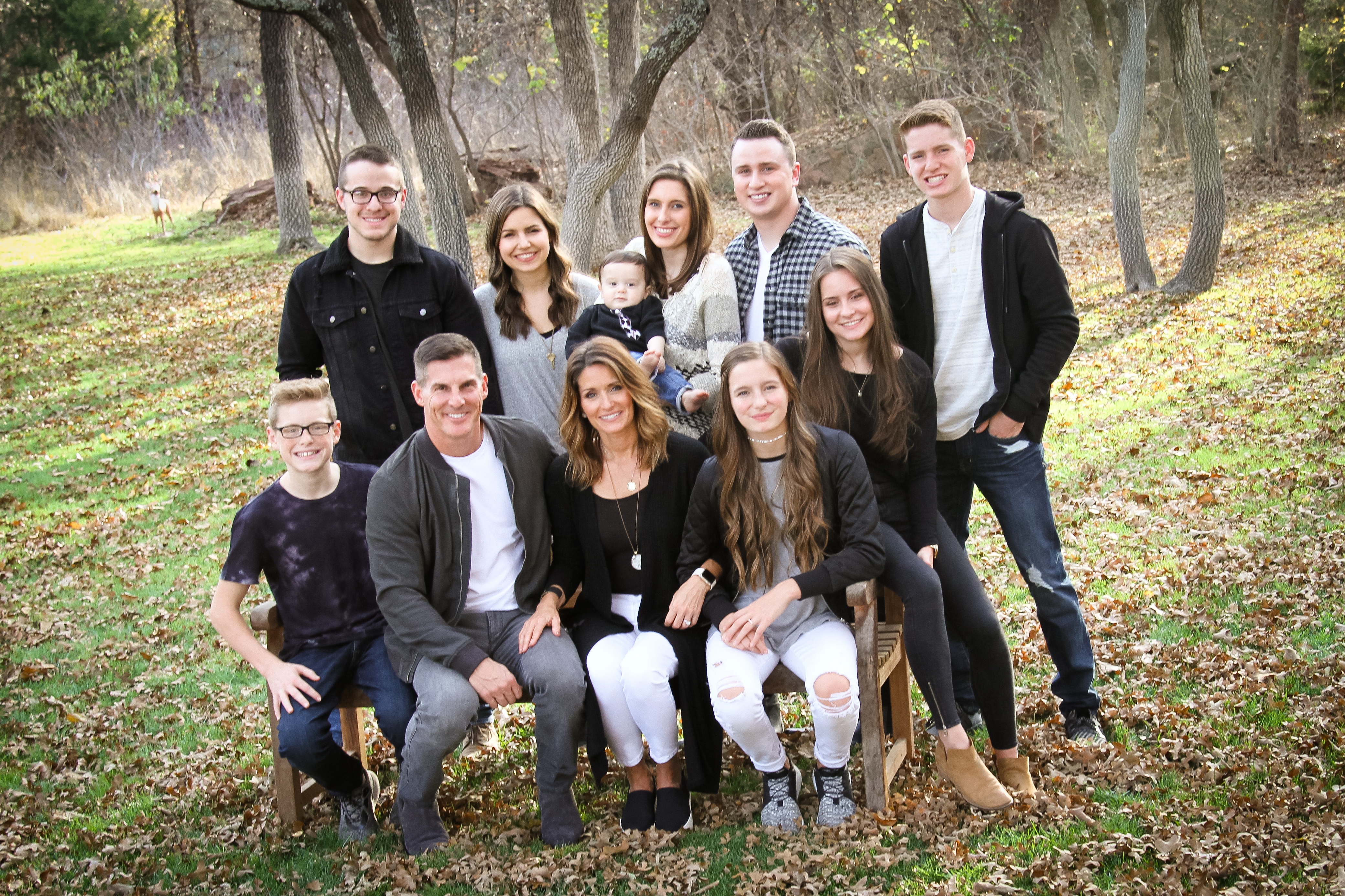 Criag Groeschel and family