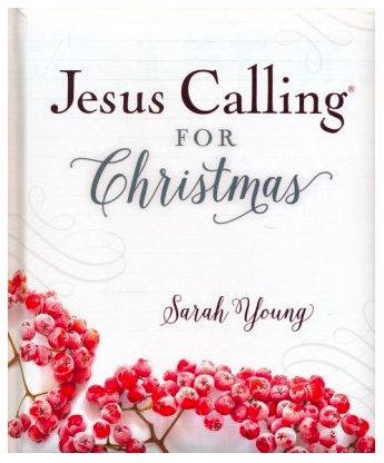 Jesus Calling for Christmas by Sarah Young - book cover