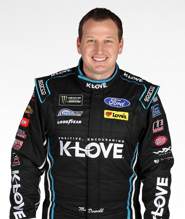 Michael McDowell - CHARLOTTE, NC - JANUARY 23: Monster Energy NASCAR Cup Series driver Michael McDowell poses for photos during the Monster Energy NASCAR Cup Series Media Tour at Charlotte Convention Center on January 23, 2018 in Charlotte, North Carolina. (Photo by Chris Graythen/Getty Images)
