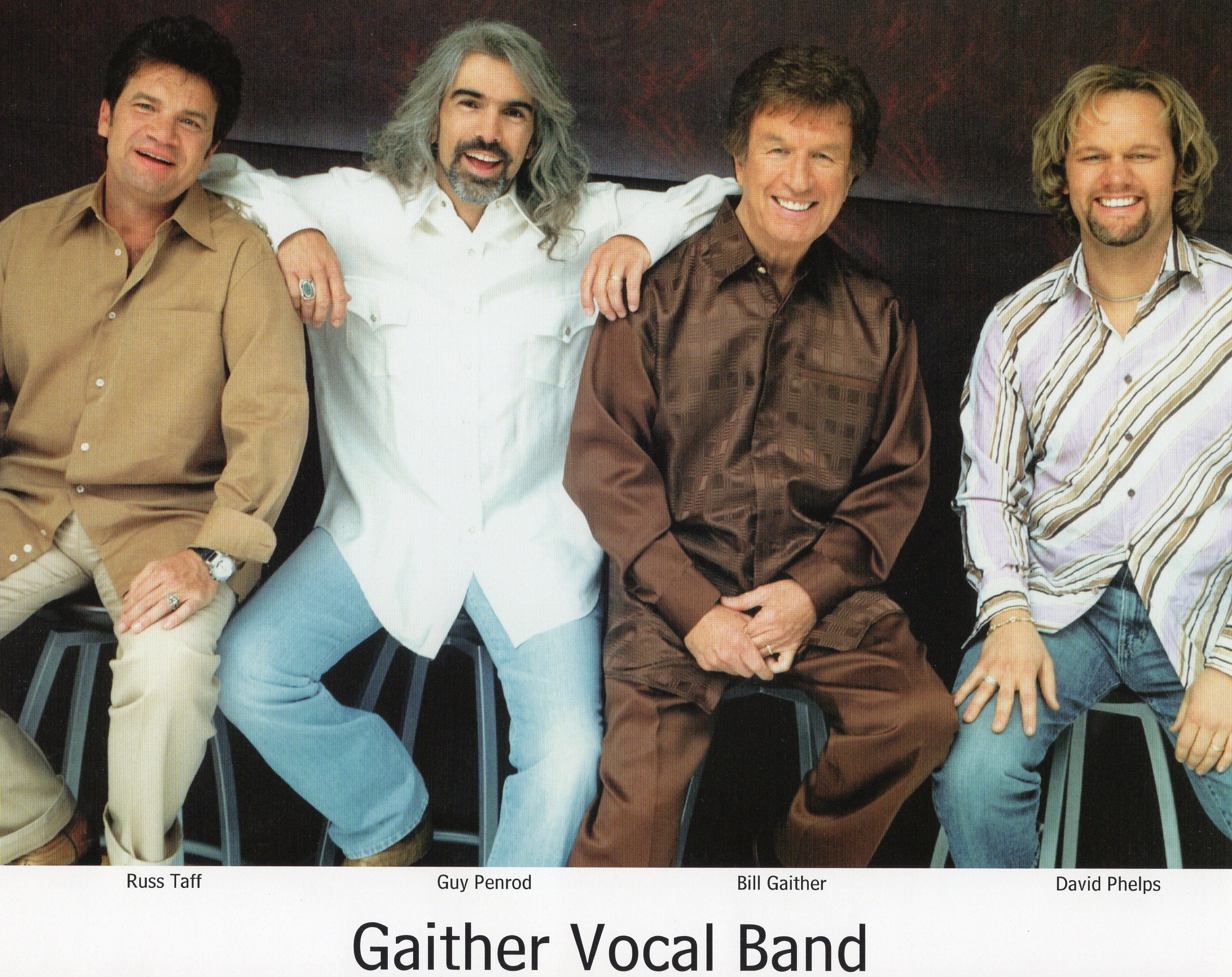 Russ Taff with the Gaither Vocal Band
