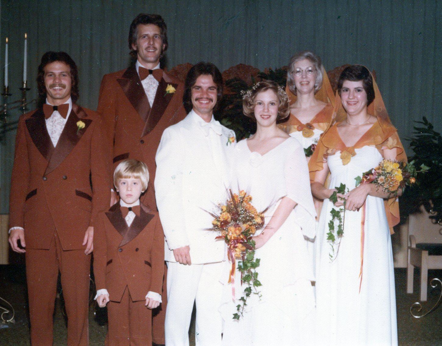 Russ Taff & Tori Taff wedding photo