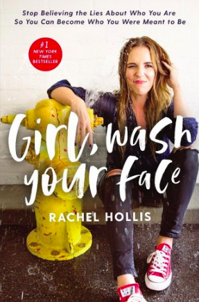Rach Hollis book, Girl Wash Your Face