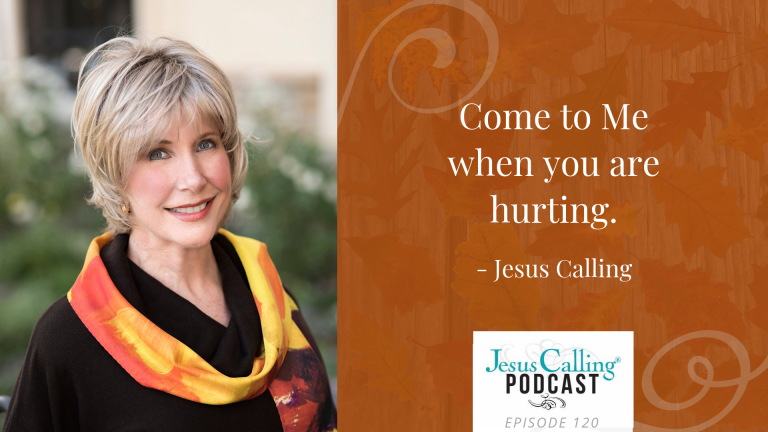 Joni Eareckson Tada on the Jesus Calling Podcast