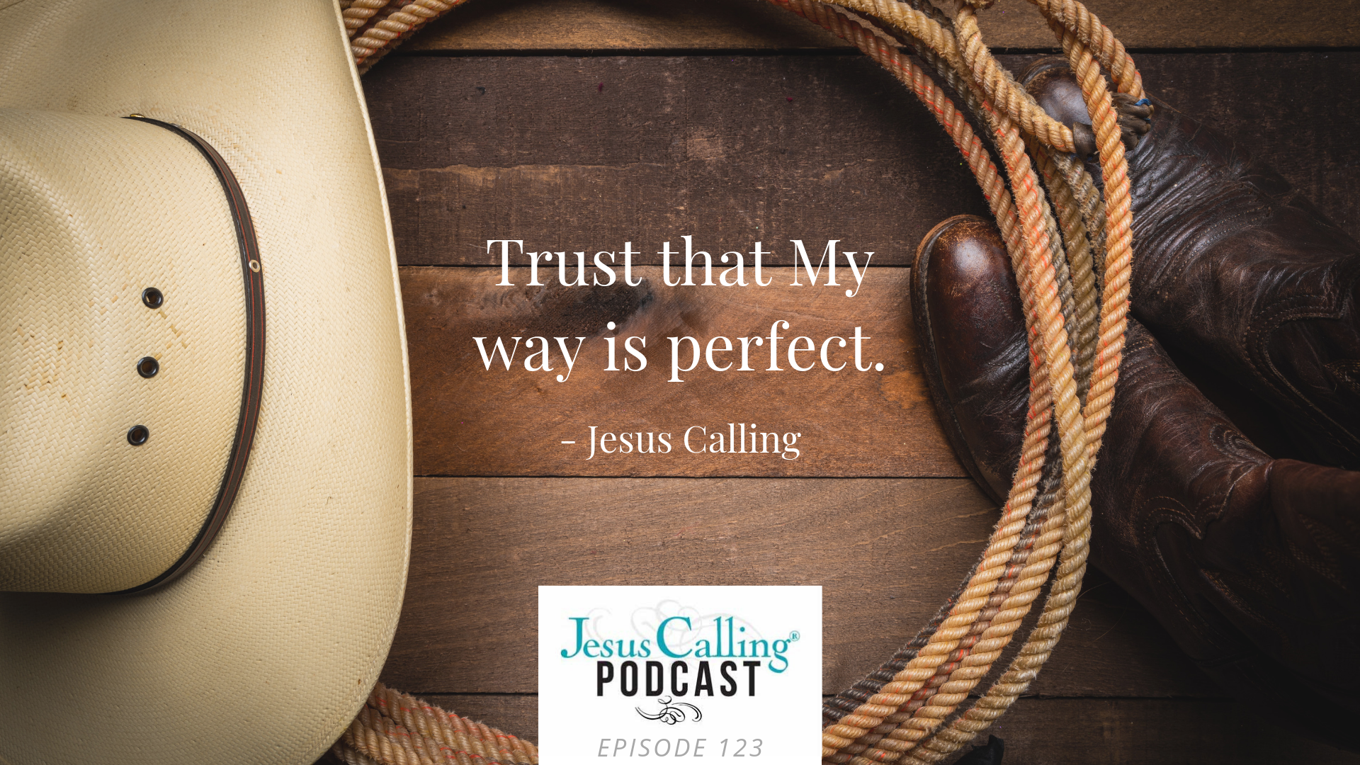 Jesus Calling podcast featuring Aaron Watson & Anthony Lucia