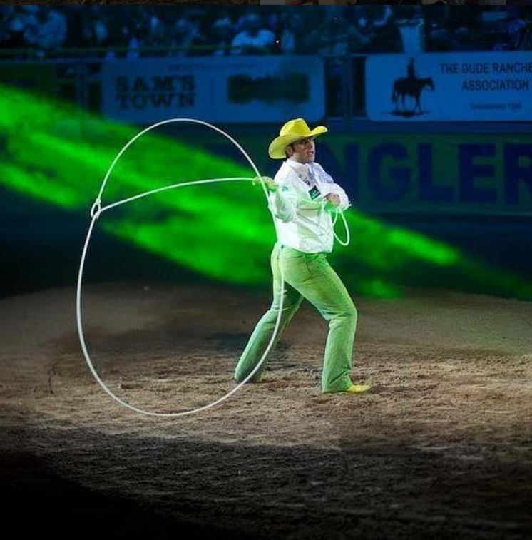 Trick roping, Anthony Lucia as featured on the Jesus Calling podcast