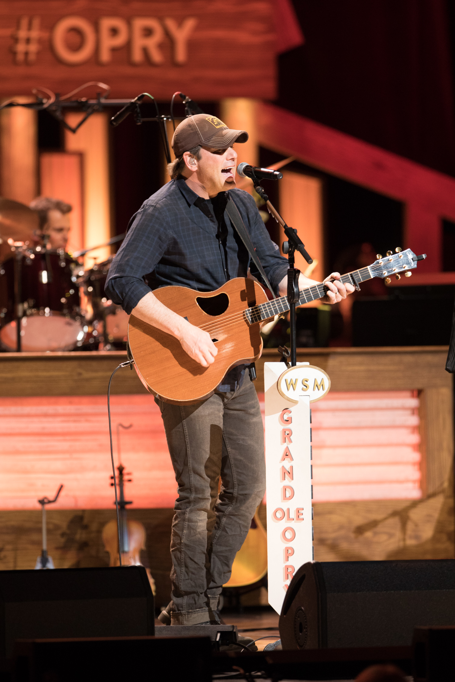 Rodney Atkins performing on The Grand Ole Opry